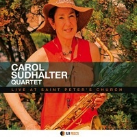 Live at Saint Peter's Church – Carol Sudhalter Quartet